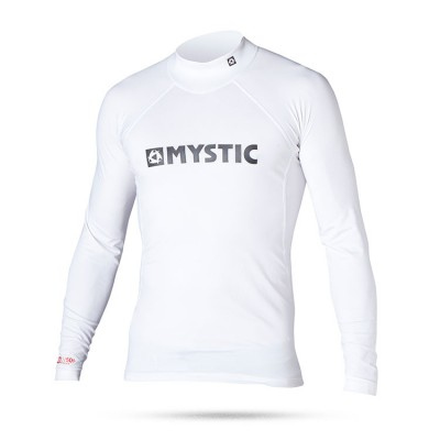 MYSTIC STAR RASH L/S WHITE